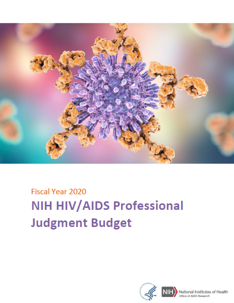 Cover image of FY 2020 Professional Judgement Budget